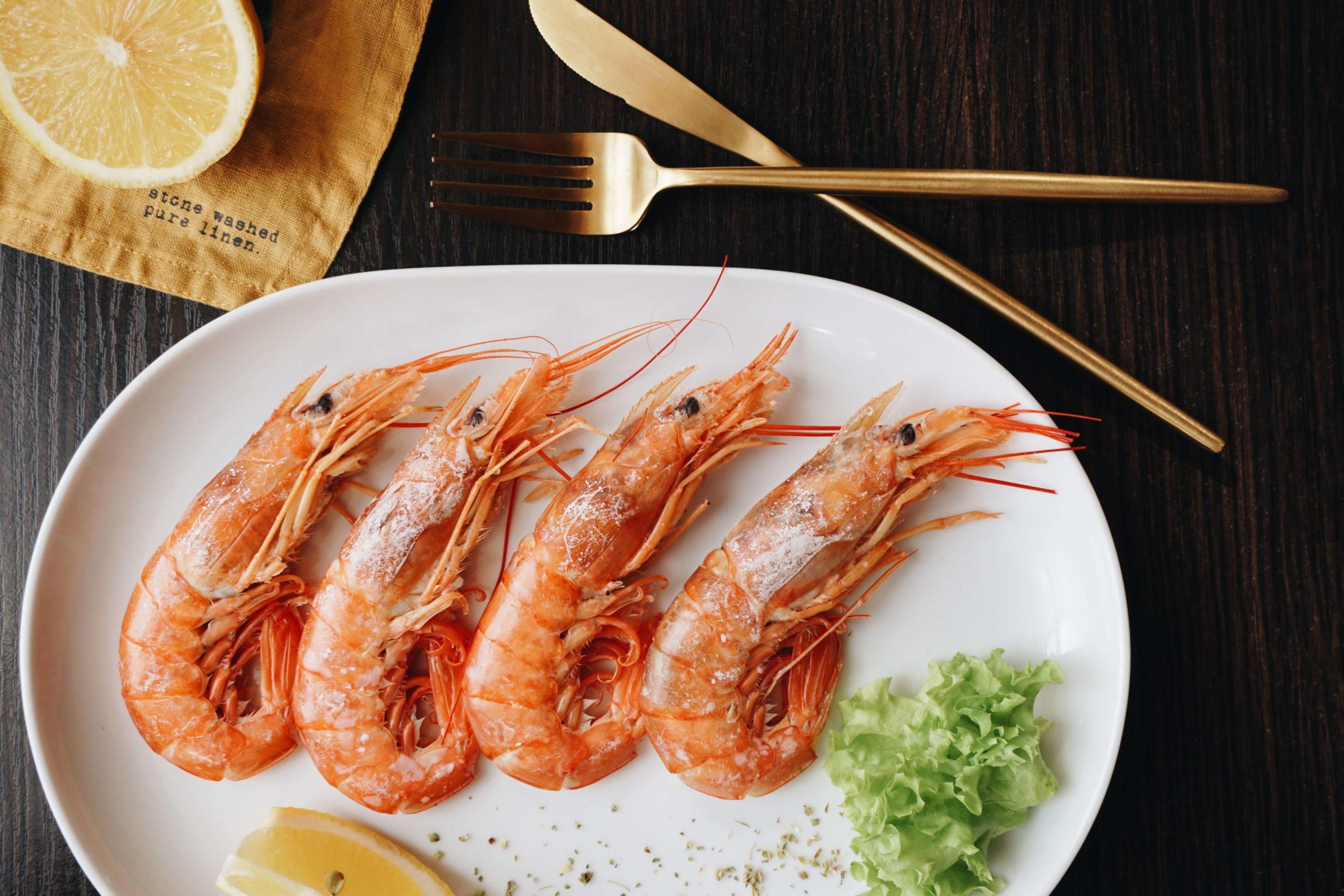 Les produits de la mer de saison