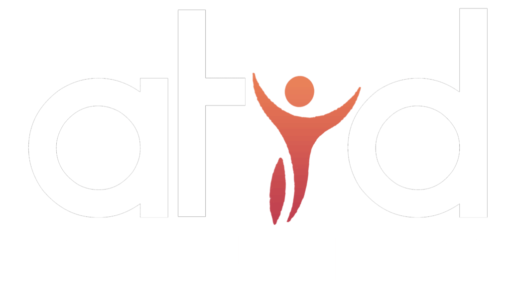 logo atid consulting blanc