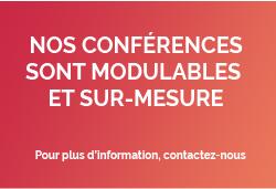 evenement conference sur mesure